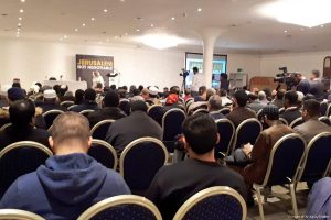 Moulana Bham speaks on importance of Jerusalem, Al-Aqsa at London conference