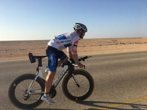 Cycling 1,300km in 48 hours because 'humanity is a wonderful thing'