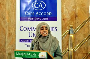Eid-al-Fitr: 'Let's embrace Cape Accord'