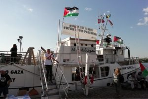 New 'Freedom Flotilla' sets sail to challenge Israel's blockade of Gaza