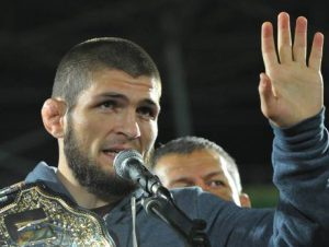 Khabib '100 times bigger than Mo Salah' after winning for the Muslim world