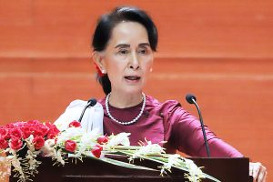 Aung San Suu Kyi: 'Once a respected icon, now liability for Human Rights'