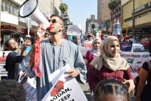 Durban marchers demand civilian rule in Sudan