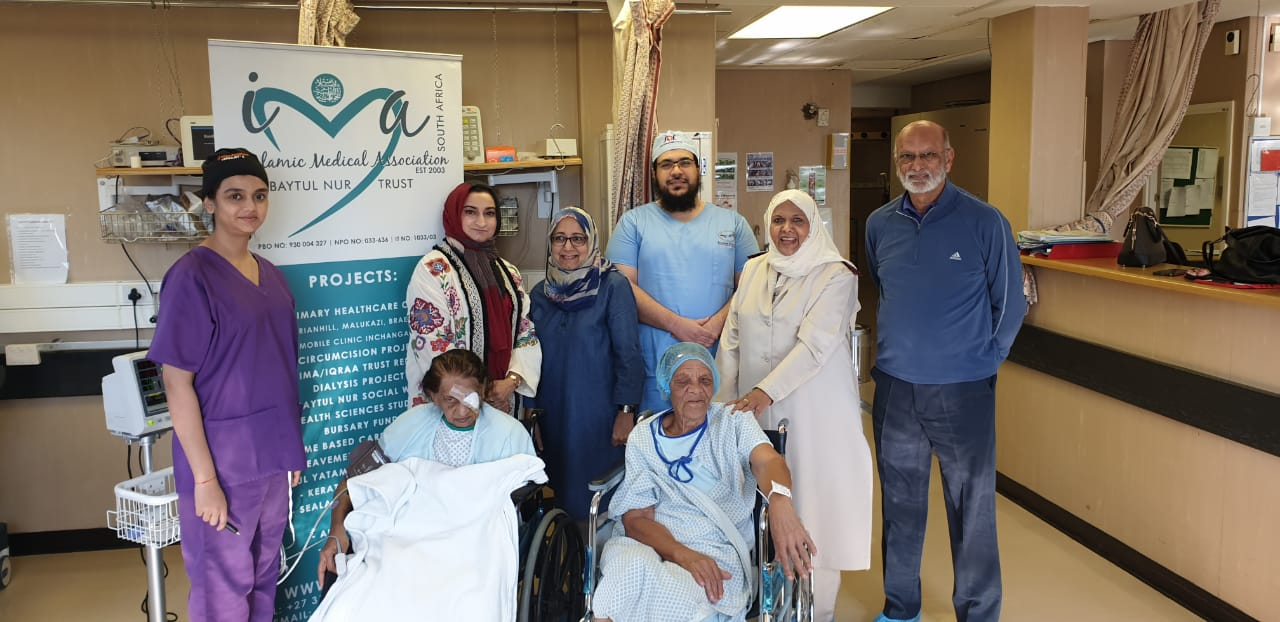 Eye patients rejoice as two Muslim charities help restore 'gift of sight'