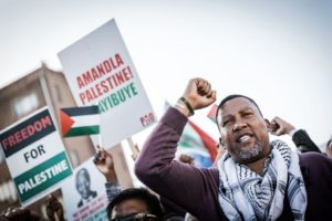 Mandela's grandson lashes out at Israel during Palestine Expo in London