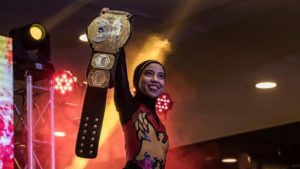 'I want people to see me as a wrestler, not just some hijab girl'