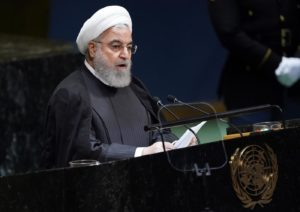 Iran's Hassen Rouhani at UN: 'No talks with US without sanctions relief'