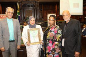 Long serving activist Enver Surty launches memoir in parliament
