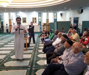 Visitor to 'Open Mosque Day' changes perception on Islam and Muslims