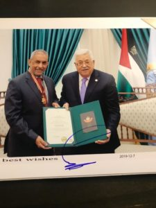 SA ambassador to Palestine honoured