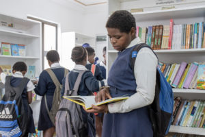 South African Muslim Charitable Trust donates library in rural KZN South Coast village