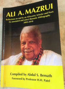 SA academic publishes bibliography on Africa's foremost thinker – Ali Mazrui