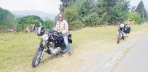 Ashraf's raring to ride across 21 countries but there's a tiny hurdle…