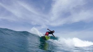 Life-altering operation keeps Olympic dream alive for Emirati surfer